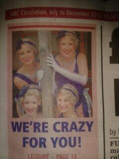 Crazy for You WEEKLY NEWS 1