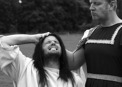 JCS lowres1 Jesus and Pilate BW