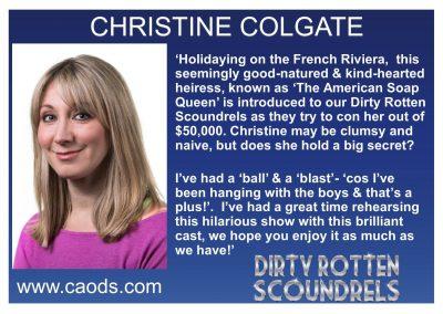 Christine bio