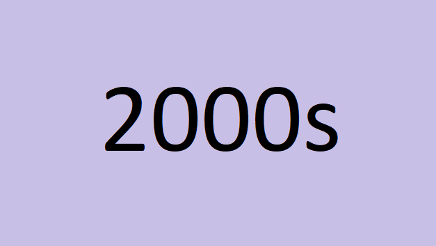 Past Shows 2000s