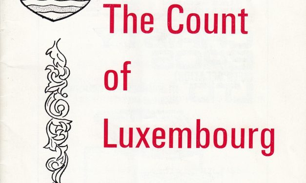 Count of Luxembourg