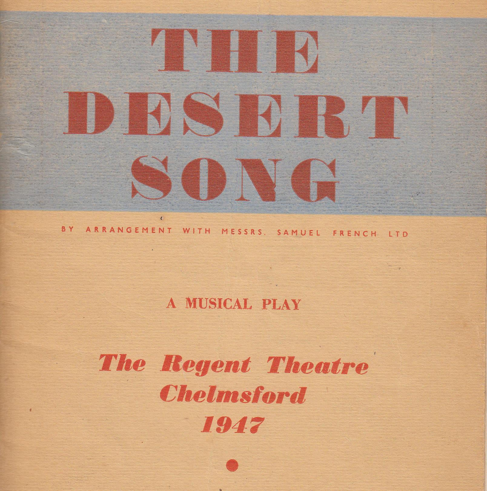 The Desert Song (1947)