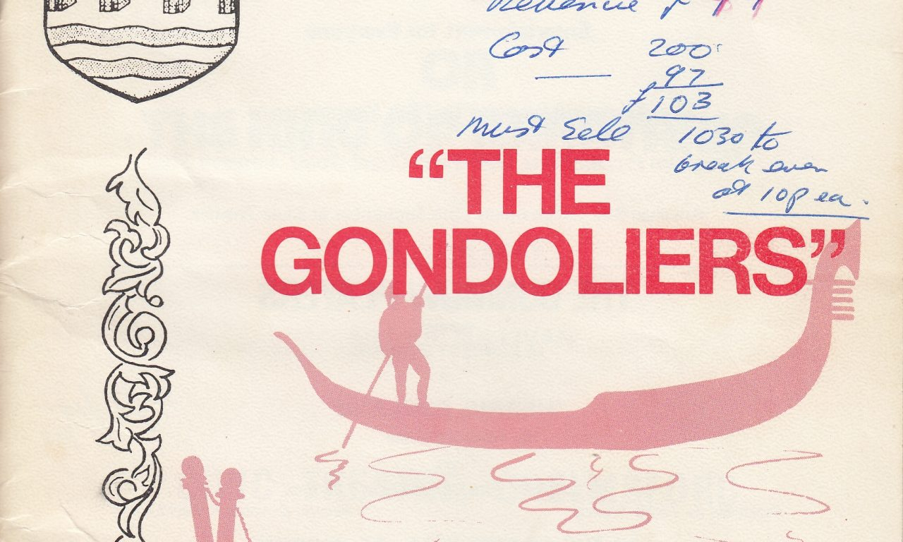 The Gondoliers (1974)
