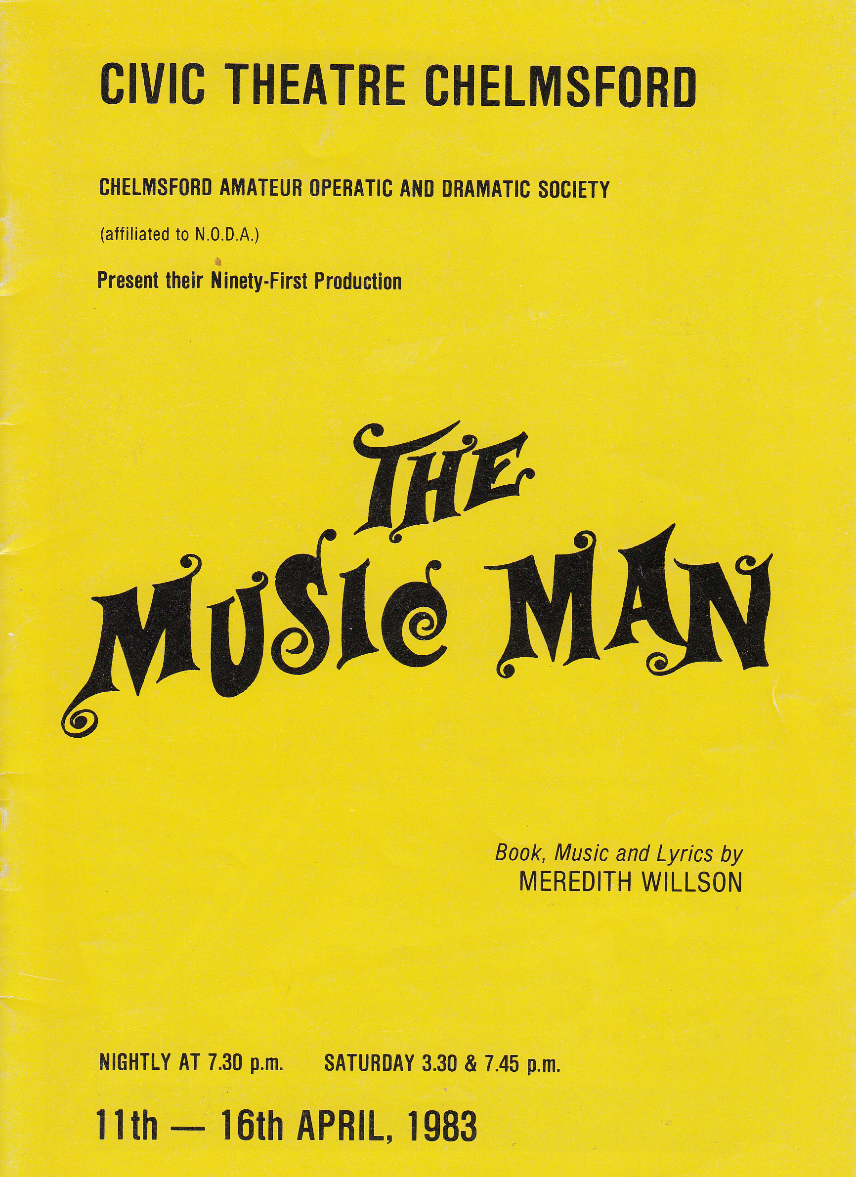 The Music Man (1983)