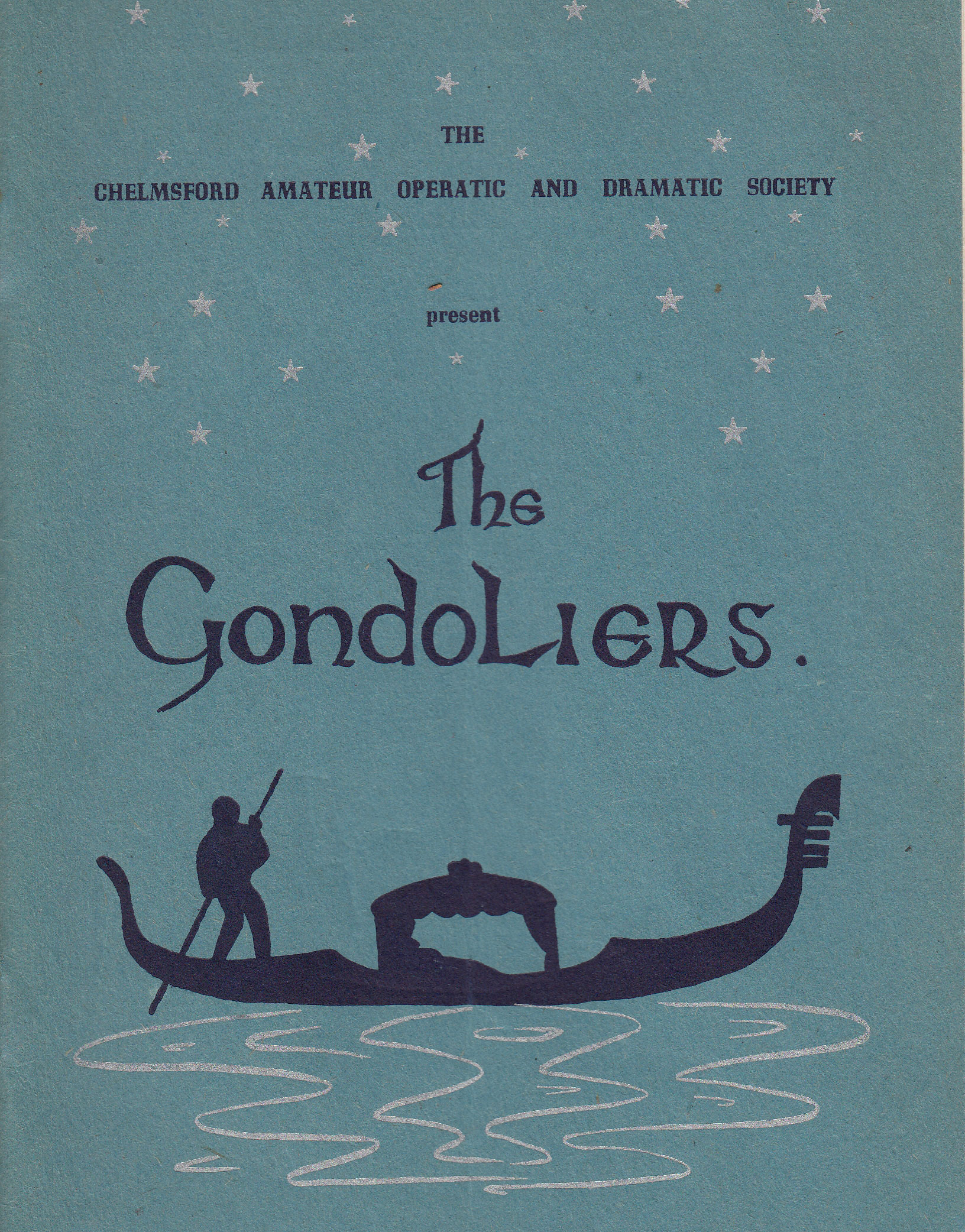 The Gondoliers (1922)