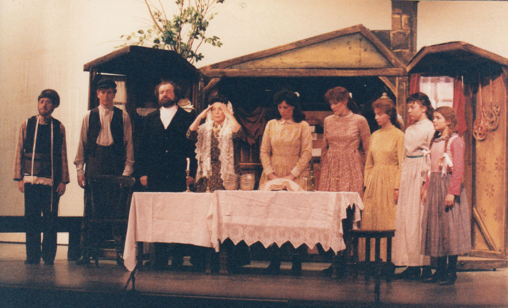 Fiddler On The Roof 1992 Chelmsford Amateur Operatic And