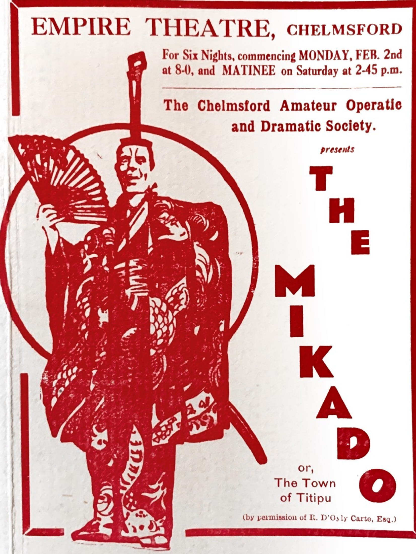 The Mikado (1931)